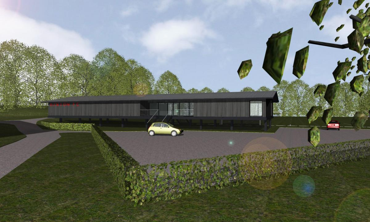 New Clubhouse Plans for Hinton FC