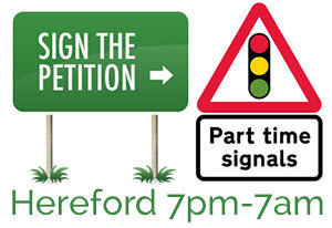 Part-Time Traffic Lights Petition