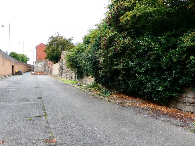 Hereford City Walls Greyfriars Avenue 2.jpg