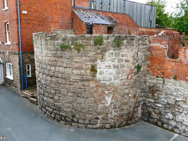 Hereford City Walls Greyfriars Avenue Bastion.jpg
