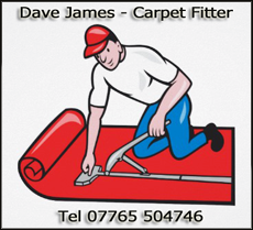 Dave James Carpet Fitter
