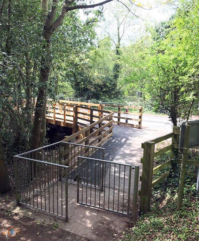 New Timber Walkway Haywood Lane Belmont Hereford Voice